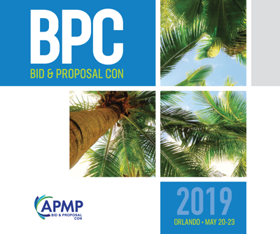 Visit our booth at APMP Bid & Proposal Con