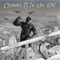Change is in the air